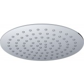 UFO Luxe hoofddouche rond 200 mm. Ultra plat chroom