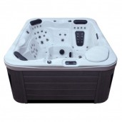AWT SPA IN-591 classic SilverMarble 220x186 cm. grijs
