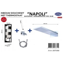 One pack Inbouw doucheset Napoli N 60